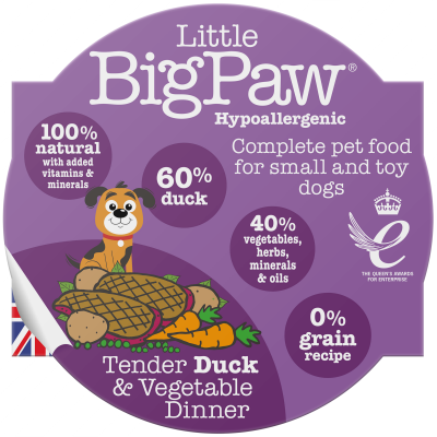 Tender Duck & Vegetable Dinners 85g