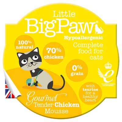 Gourmet Tender Chicken Mousse for Cats (85g)