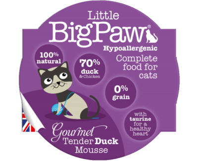 Gourmet Tender Duck Mousse For Cats (85g)