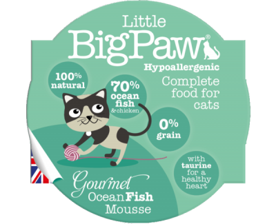 Gourmet Ocean Fish Mousse For Cats (85g)