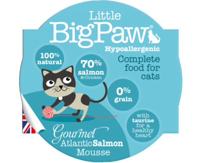 Gourmet Atlantic Salmon Mousse For Cats (85g)