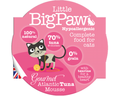 Gourmet Atlantic Tuna Mousse For Cats (85g)