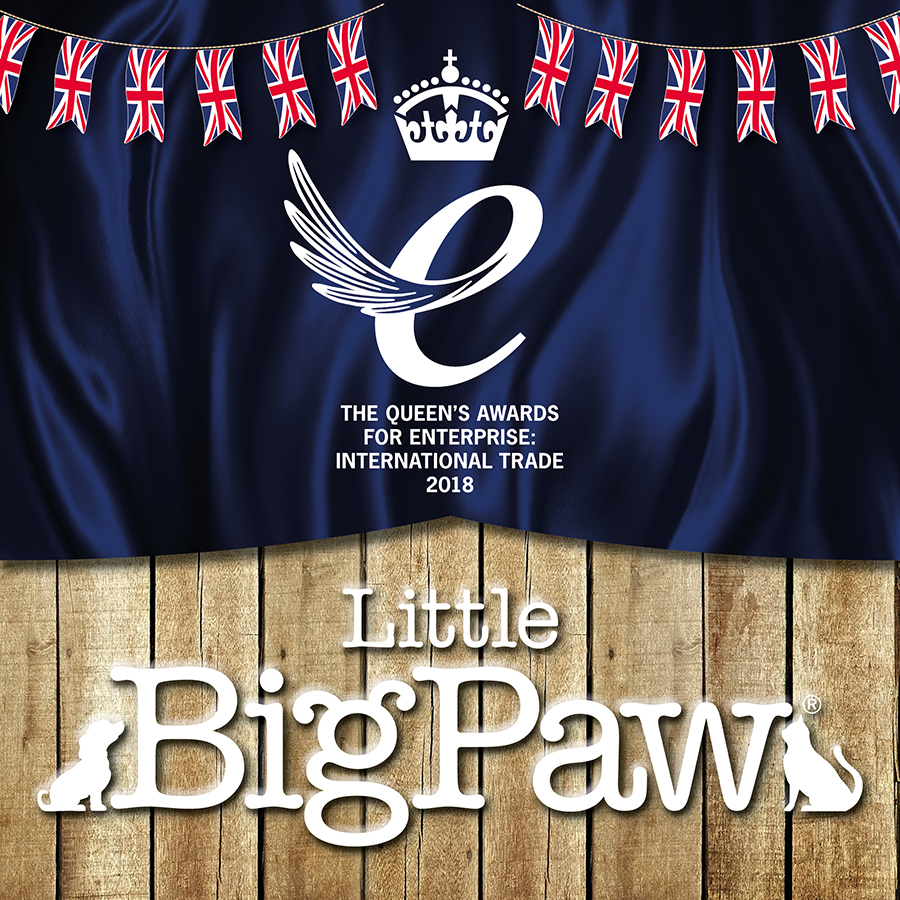 Little BigPaw goes to London for the Queens Award!