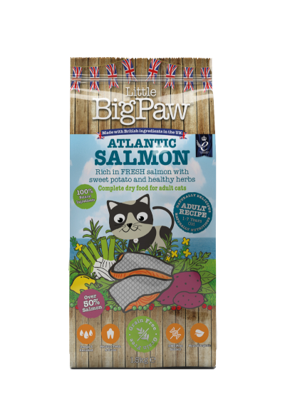 Atlantic Salmon Complete Dry Food for Adult Cats 1.5kg