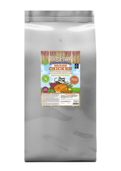 British Chicken Complete Dry Food for Kittens 15kg