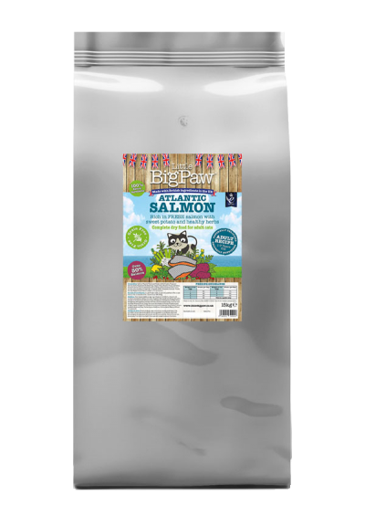 Atlantic Salmon Complete Dry Food for Adult Cats 15kg