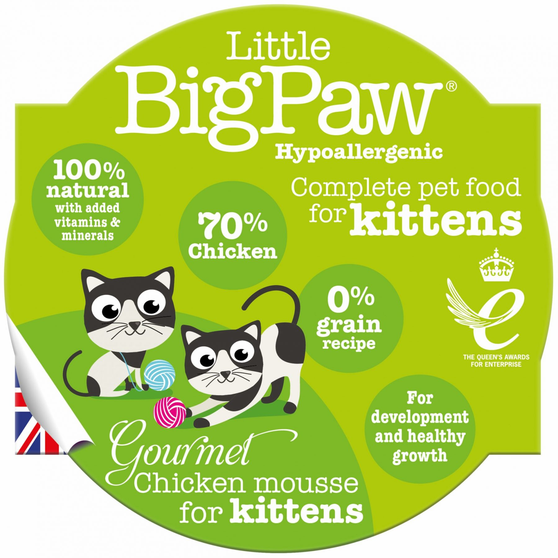 Read more about the article Introducing Little BigPaw Gourmet Chicken Mousse for Kittens..
